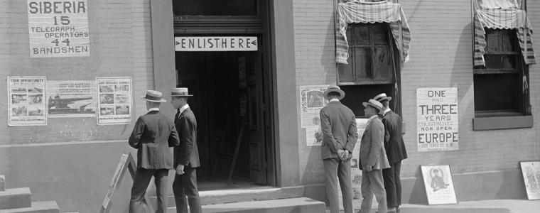 old photo alaska recruitment center